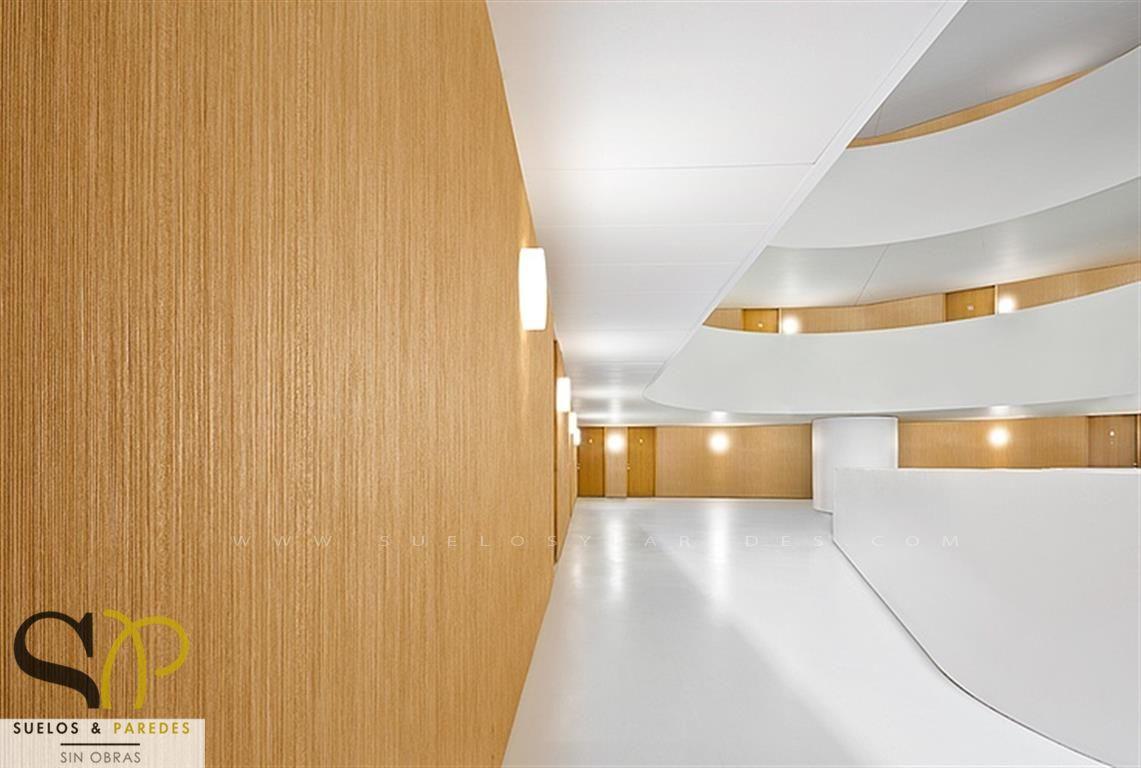 Oficinas hoteles locales comerciales - Revestimiento vinilico para paredes ...