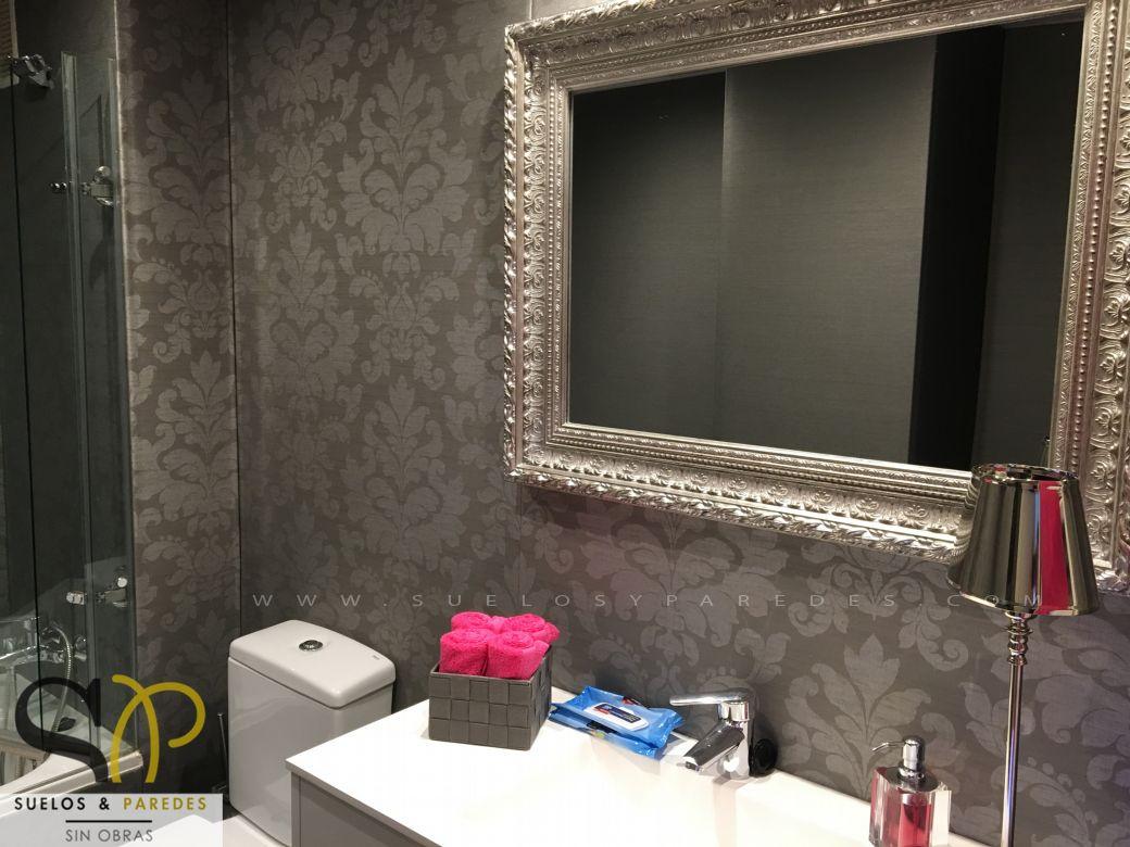 Hall y salones for Revestimientos vinilicos para azulejos